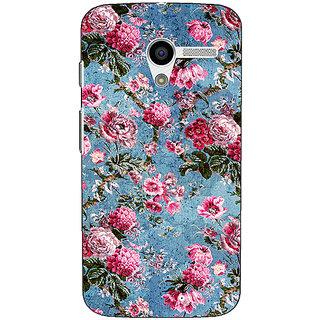 1 Crazy Designer Floral Pattern  Back Cover Case For Moto X (1st Gen) C530664