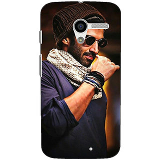 1 Crazy Designer Bollywood Superstar Aditya Roy Kapoor Back Cover Case For Moto X (1st Gen) C530912