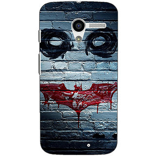 1 Crazy Designer Villain Joker Back Cover Case For Moto X (1st Gen) C530028