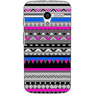 1 Crazy Designer Aztec Girly Tribal Back Cover Case For Moto X (1st Gen) C530059