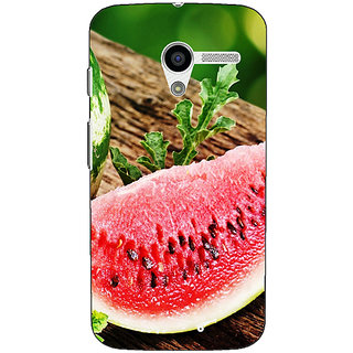 1 Crazy Designer Watermelon Back Cover Case For Moto X (1st Gen) C530690