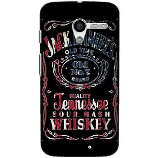1 Crazy Designer Jack Daniels JD Whisky Back Cover Case For Moto X (1st Gen) C531223