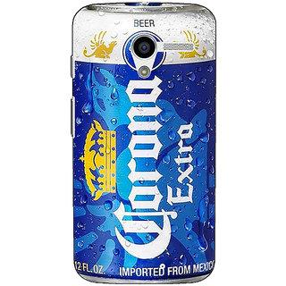 1 Crazy Designer Corona Beer Back Cover Case For Moto X (1st Gen) C531260