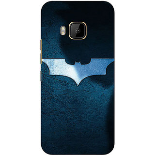 1 Crazy Designer Superheroes Batman Dark knight Back Cover Case For HTC M9 C540003