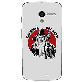 1 Crazy Designer LOTR Hobbit Gandalf Back Cover Case For Moto X (1st Gen) C530361
