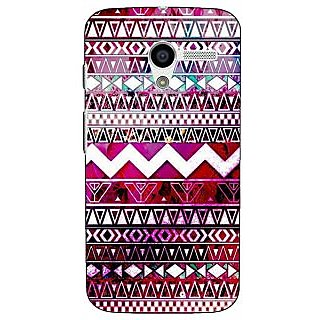 1 Crazy Designer Tribal Back Cover Case For Moto X (1st Gen) C530797
