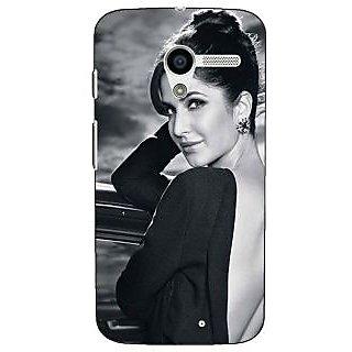 1 Crazy Designer Bollywood Superstar Katrina Kaif Back Cover Case For Moto X (1st Gen) C531073
