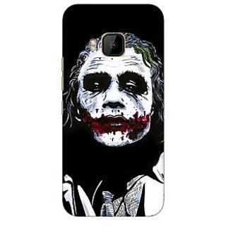 1 Crazy Designer Villain Joker Back Cover Case For HTC M9 C540048