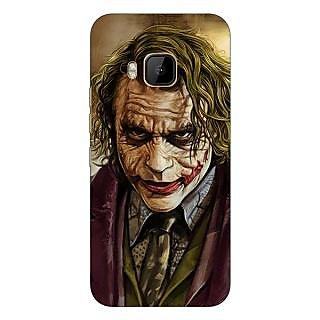 1 Crazy Designer Villain Joker Back Cover Case For HTC M9 C540050