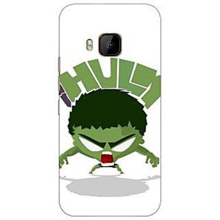 1 Crazy Designer Superheroes Hulk Back Cover Case For HTC M9 C540323