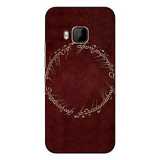 1 Crazy Designer LOTR Hobbit  Back Cover Case For HTC M9 C540369