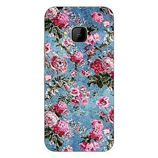 1 Crazy Designer Floral Pattern  Back Cover Case For HTC M9 C540664