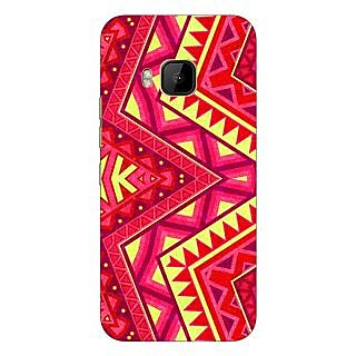 1 Crazy Designer Floral Pattern  Back Cover Case For HTC M9 C540667