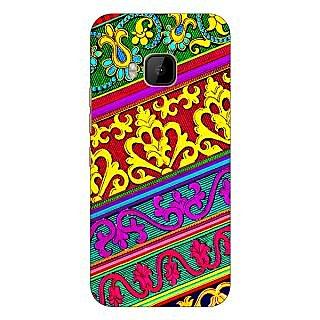 1 Crazy Designer Floral Pattern  Back Cover Case For HTC M9 C540668