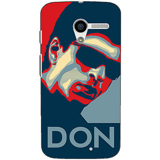 1 Crazy Designer Bollywood Superstar Don Shahrukh Khan Back Cover Case For Moto X (1st Gen) C531113