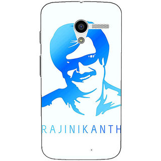 1 Crazy Designer Rajni Rajanikant Back Cover Case For Moto X (1st Gen) C531491