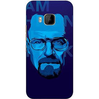 1 Crazy Designer Breaking Bad Heisenberg Back Cover Case For HTC M9 C540431