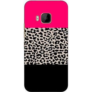 1 Crazy Designer Leopard Pattern  Back Cover Case For HTC M9 C540775