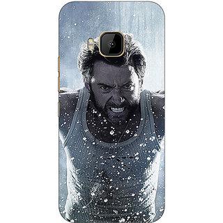1 Crazy Designer Wolverine Hugh Jackman Back Cover Case For HTC M9 C540896