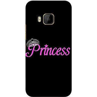 1 Crazy Designer Princess Back Cover Case For HTC M9 C541398