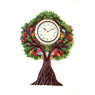 Wooden Tree Wall Clock