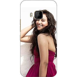 1 Crazy Designer Bollywood Superstar Sonakshi Sinha Back Cover Case For HTC M9 C541020