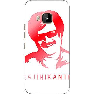 1 Crazy Designer Rajni Rajanikant Back Cover Case For HTC M9 C541493