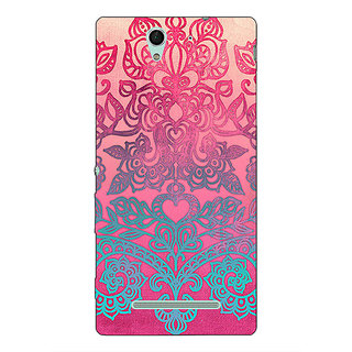 1 Crazy Designer Princess Pattern Back Cover Case For Sony Xperia C3 C550229