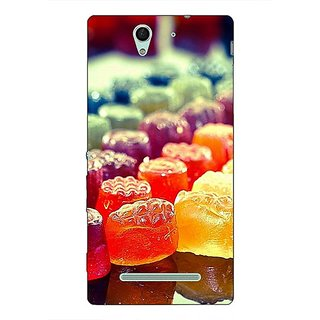 1 Crazy Designer Gummy Bears Back Cover Case For Sony Xperia C3 C550694