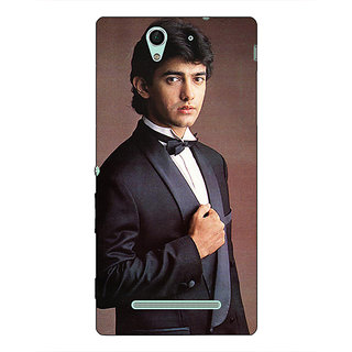 1 Crazy Designer Bollywood Superstar Aamir Khan Back Cover Case For Sony Xperia C3 C550936