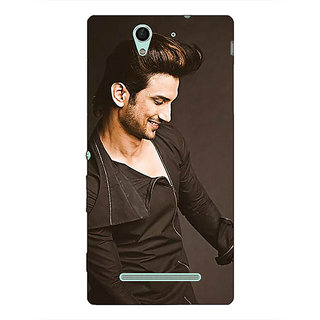 1 Crazy Designer Bollywood Superstar Sushant Singh Rajput Back Cover Case For Sony Xperia C3 C550949