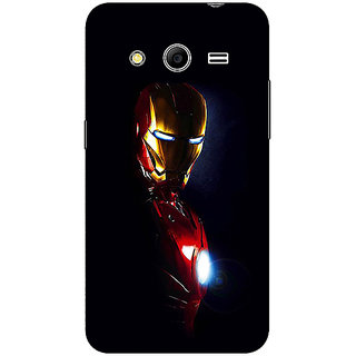 1 Crazy Designer Superheroes Ironman Back Cover Case For Samsung Core 2 C560026