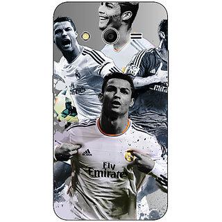 1 Crazy Designer Cristiano Ronaldo Real Madrid Back Cover Case For Samsung Core 2 C560307