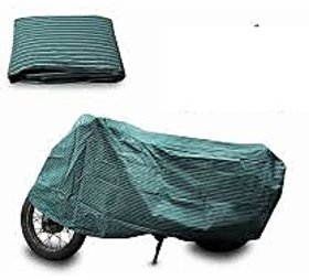 Bull Rider Bike Body Cover With Mirror Pocket For Bajaj Pulsar 150 (Colour Canvas)