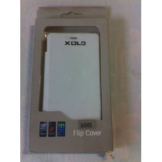 huge selection of 89df0 88c22 Xolo A500S Leather Flip Cover Xolo A500S Flip Case Flip Cover For Xolo A500S