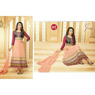 60gm GEORGETTE SEMISTICHED SUIT