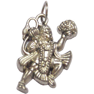 Men Style Silver   Hanuman  Pendent