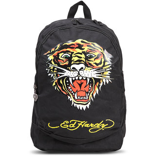 Buy Ed Hardy Designer Backpacks - 1A1A1Tig Black Medium Online ... dc430aca90c21