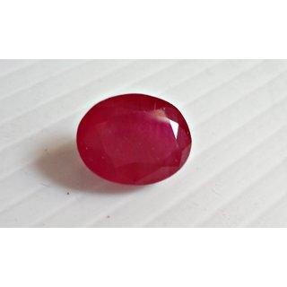 Ruby manik gemstone indian 5.40 carate