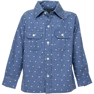 Blue Star Chamy Shirt -8-9y