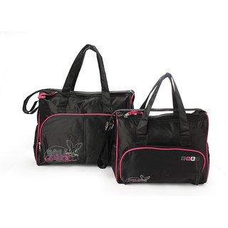 Wonderkids Pink Rabbit Baby Diaper Bag