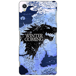 1 Crazy Designer Game Of Thrones GOT House Stark  Back Cover Case For Sony Xperia M4 C610122