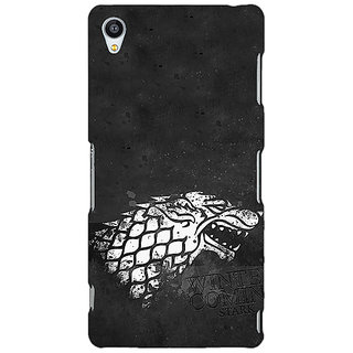 1 Crazy Designer Game Of Thrones GOT House Stark  Back Cover Case For Sony Xperia M4 C610125