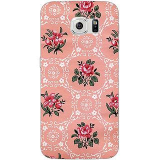 1 Crazy Designer Floral Pattern  Back Cover Case For Samsung S6 Edge C600663