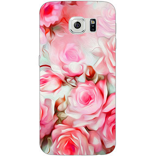 1 Crazy Designer Floral Pattern  Back Cover Case For Samsung S6 Edge C600666