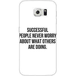 1 Crazy Designer Quotes Back Cover Case For Samsung S6 Edge C601194
