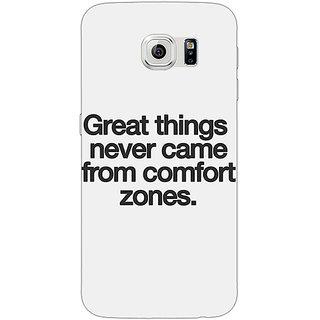 1 Crazy Designer Quotes Back Cover Case For Samsung S6 Edge C601196