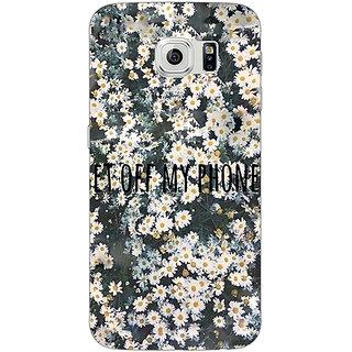 1 Crazy Designer Floral Pattern Back Cover Case For Samsung S6 Edge C601408