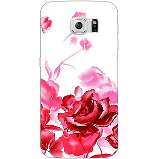 1 Crazy Designer Floral Pattern Back Cover Case For Samsung S6 Edge C601410