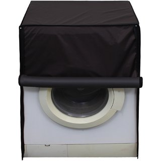 Glassiano Coffee Waterproof  Dustproof Washing Machine Cover For Front Load 6.5Kg Model